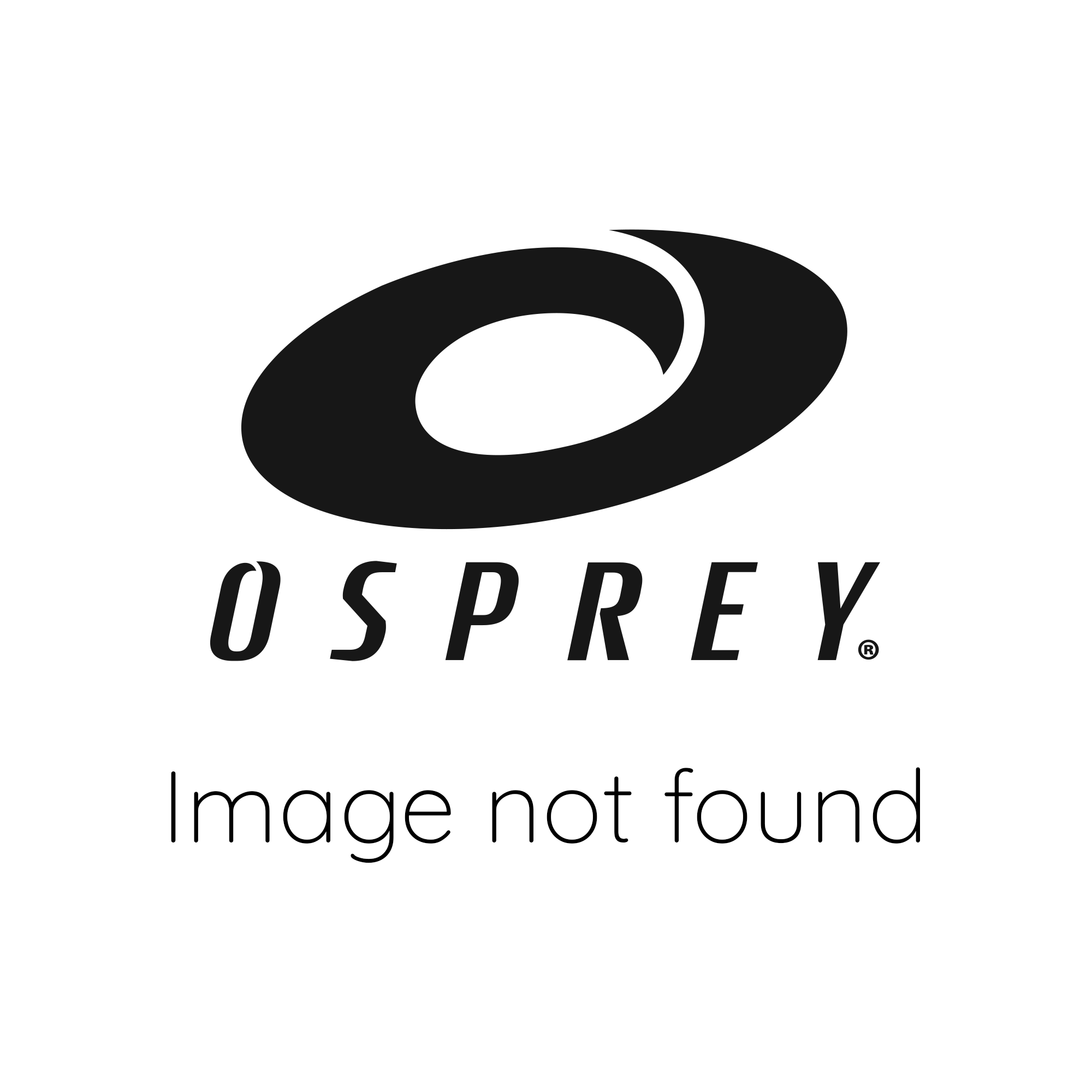 Osprey Adults Snorkel Set with Flippers - Black